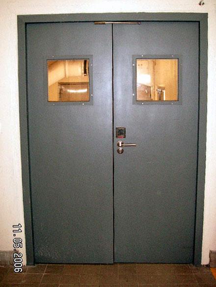 Fire Rated Steel Doors : Fire rated steel door system project joint billion