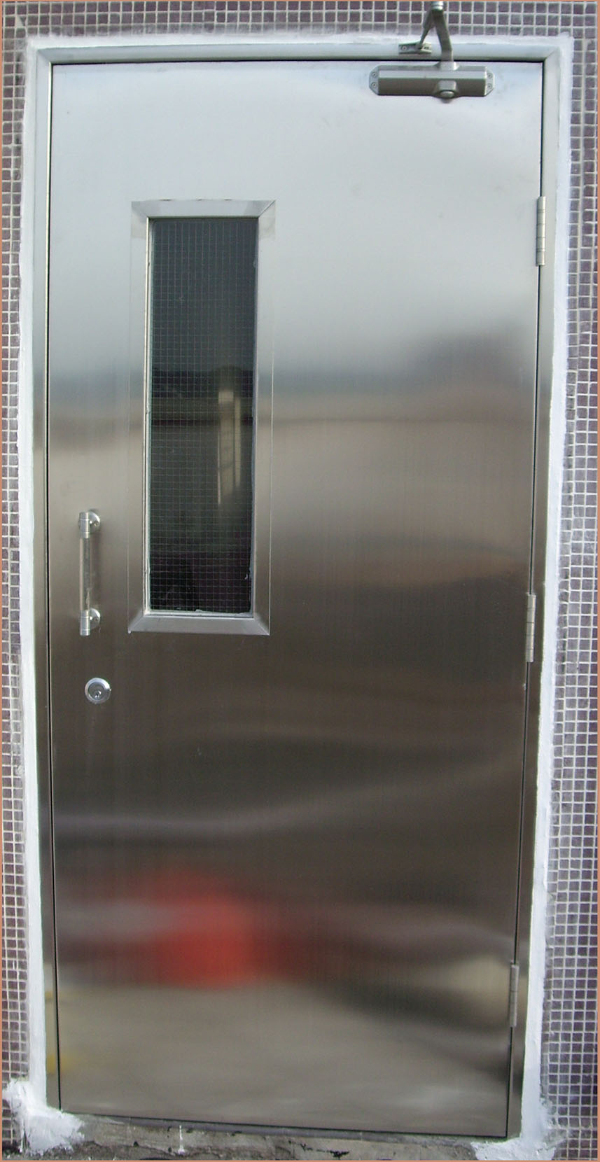 Fire rated steel door system project joint billion